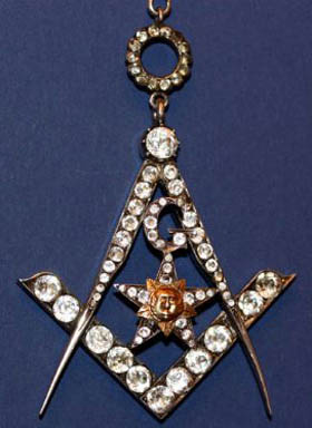 Worshipful Master's Jewels | St  Patrick's Masonic Lodge No 77